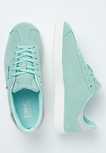 Donne Knights Bassa British Sneakers Point Argento Menta FExpqHw1dp
