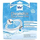 blu Chromolux Shower Hose, Grey, 1.5 m, PS-SHV1.0