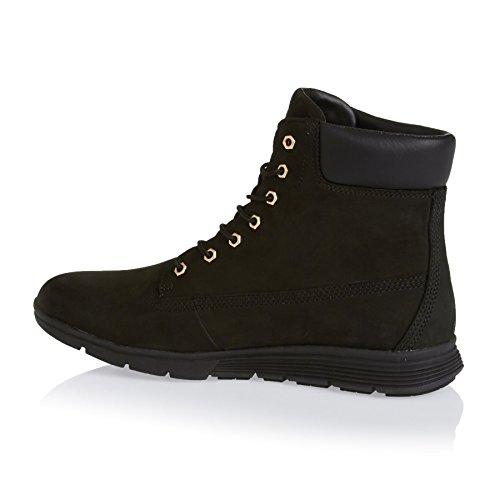 trigo TIMBERLAND A17M9 las mujeres amarillas amarillo zapatos botas de cuero impermeables Black