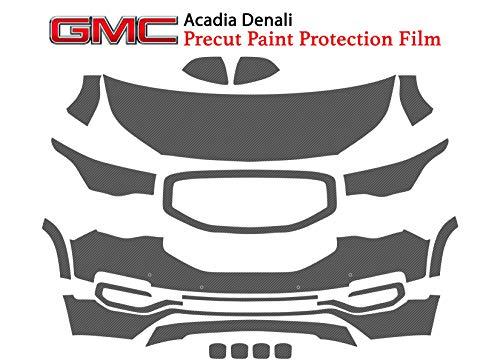 The Online Liquidator Full Front Protective Film GMC Acadia Denali 2017-2019 - Clear Bra Professional Car Paint Shield ()