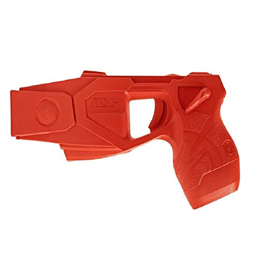 ASP Taser X26P Red Gun Replica for Training and Practice with Martial Arts, Defense, Props, Tactical, Law Enforcement, Military 07362