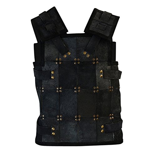 Armor Venue - RFB Fighter Leather Armour - Black Large by Armor Venue