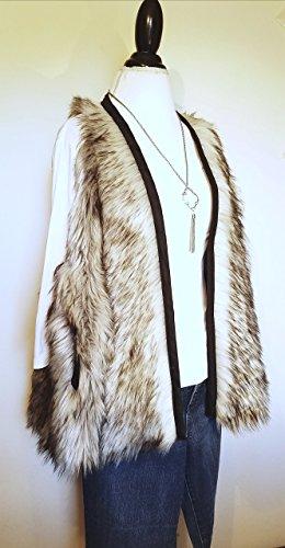 Fur Swing Coat-style Vest HANDMADE IN TEXAS, USA ()