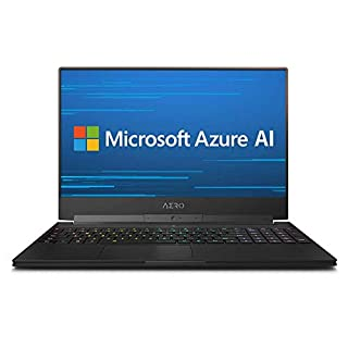 "GIGABYTE AERO 15-X9-RT5P 15"" Thin Bezel FHD 144Hz IPS, i7-8750H, NVIDIA GeForce RTX 2070, 2666MHz 16GB RAM, M.2 PCIe 1TB SSD, 94Wh Metal Chassis Ultra Slim Gaming Laptop (Renewed)"