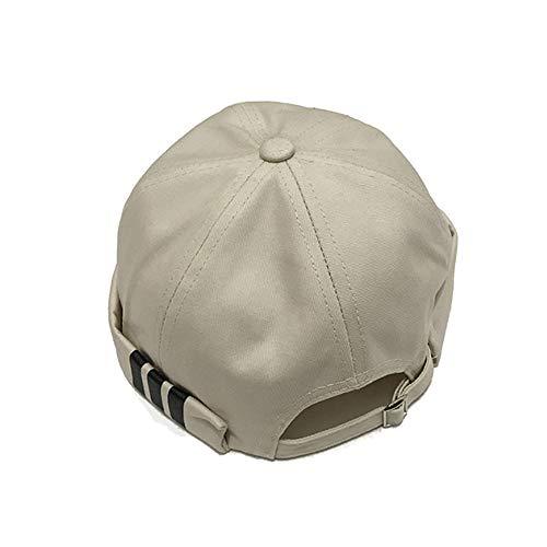 Clape Brimless Watch Cap Rolled Cuff Harbour Hat Retro Strapback Docker  Leon Cap 7b2d75e5c4aa