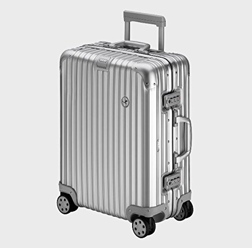 【RIMOWA×Lufthansa】(リモワ×ルフトハンザ航空) スーツケース トパーズ 45L TSAロック シルバー [並行輸入品] B06XVH1DSM