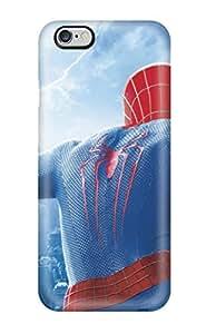 Premium Durable 2014 The Amazing Spider Man 2 Fashion Tpu Iphone 6 Plus Protective Case Cover