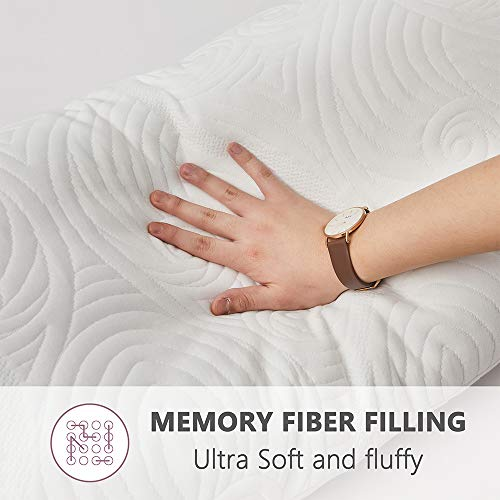 DOWNCOOL Memory Fiber Filling Body Pillow