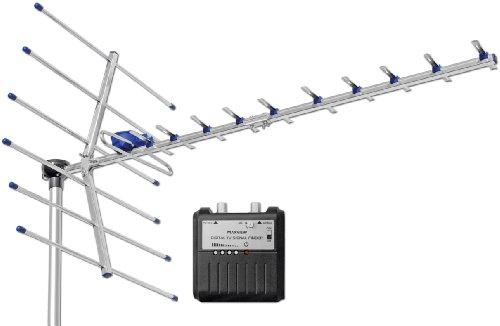 Maxview UHF TV DVBT Aerial - Silver