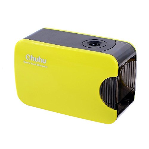 Ohuhu Electric Automatic Pencil Sharpener, Special Design for Colored Pencils