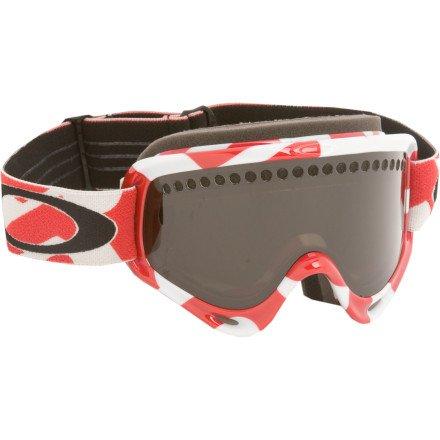 Oakley O-Frame Snow Goggles (True Carbon Fiber Frame/Dark Grey Lens), Outdoor Stuffs