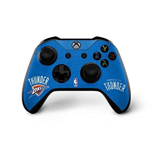 Oklahoma City Thunder Xbox One X Controller Skin - Oklahoma City Thunder Primary Logo | NBA X Skinit Skin by Skinit