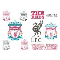 Giftllocaluk Liverpool Fc. Tattoo Pack