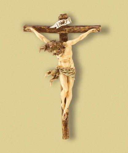Amazon.com: Gifts & Decor Classic Renaissance Crucifix Jesus on ...