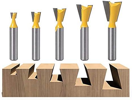 nbvmngjhjlkjlUK 8 mm Tige Droite//Dado toupie Ensemble diam/ètre Outils de Travail du Bois Fraise Fraise pour Bois 8X6mm