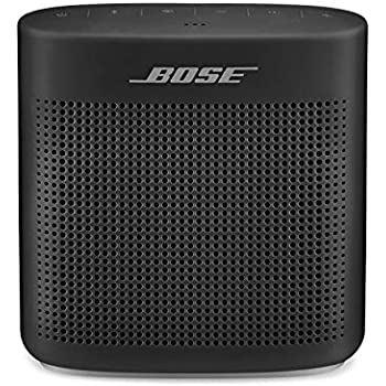 Bose SoundLink Color 2 Bluetooth Wireless Portable Speaker II Soft black Renewed