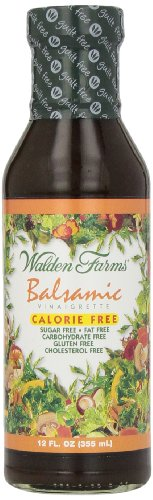 Vinaigrette Balsamic Dressing Salad Calories - Walden Farms, Dressing, Balsamic Vinaigrette, 12 oz