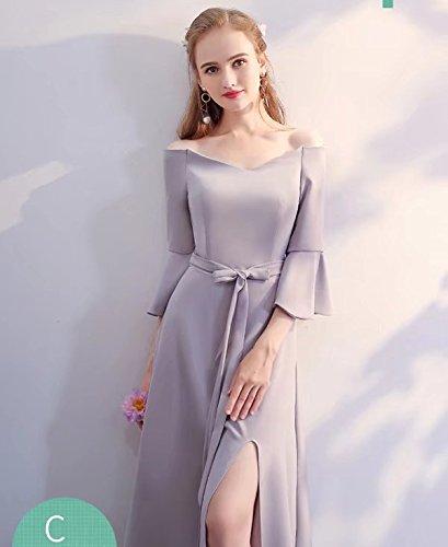 ポール獣赤外線【ノーブランド品】ロングドレス グレードレス 小さいサイズ 大きいサイズ ワンピース 全6タイプ選択可 体型カバー 大人 ドレス 20代 30代 40代 レディース 二次会 パーティドレス 結婚式 ワンピース