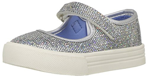Image of OshKosh B'Gosh Girls' Bea Mary Jane Flat, Multi, 10 M US Toddler