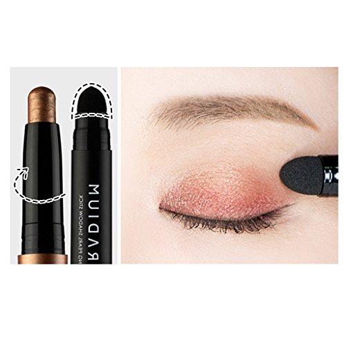 KARADIUM Shining Pearl Smudging Eye Shadow Stick, 1.4 g, #9 Rose Gold by KARADIUM (Image #4)