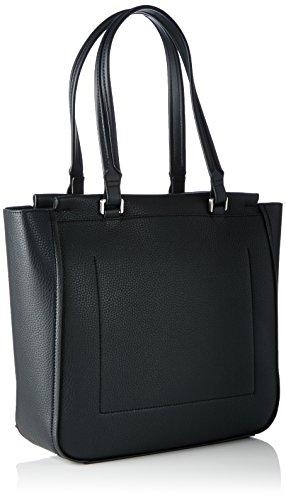 Calvin Klein CARRI3 Tote, Sacchetto Donna, Nero (Black), 32 x 9 x 43 cm (b x h x t)