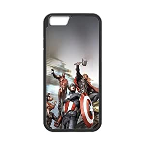 iPhone 6 4.7 Inch Cell Phone Case Black Avengers Illust Lkwsg