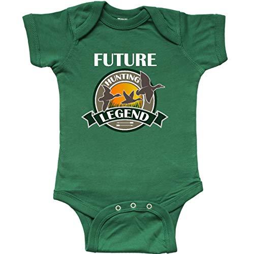 inktastic Future Duck Hunting Legend Infant Creeper Newborn Kelly Green