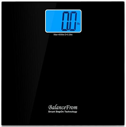 "BalanceFrom High Accuracy Digital Bathroom Scale with 4.3"" E"