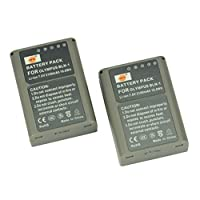DSTE® 2x BLN-1 Replacement Li-ion Battery for Olympus OM-D E-M1 E-M5 PEN E-P5 PEN-F Digital Camera as BCN-1 BLN1
