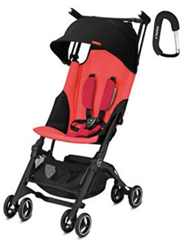Price comparison product image GB Pockit Plus Lightweight Stroller (Cherry Red)