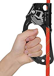 Climbing Hand Ascender Mountaineering Riser Gear for Tree Arborist Rappelling Equipment Rope Clamp for 8~12MM