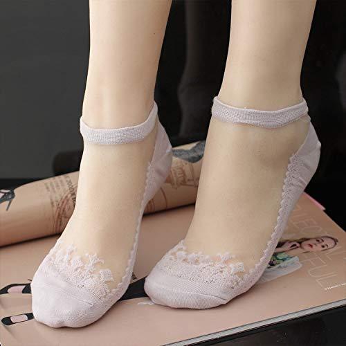 WMING-womens socks 5 Paia di Calze Calze Invisibili Trasparenti della Barca Ultra-Sottile Comode Calze Corte per Signore e Ragazze