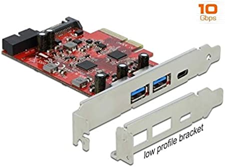 Delock Pci Express X4 Karte Zu 1 X Extern Usb Type C Elektronik