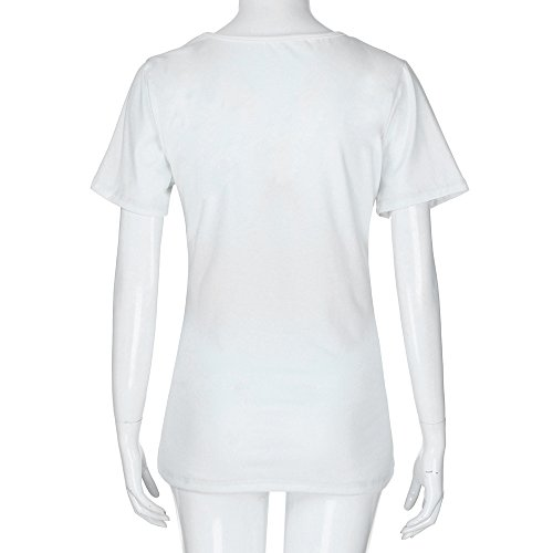 Bianca Coming Corta T Maglietta Tops Incinta Premaman Divertenti Topgrowth Stampa Is Camicetta Baby Shirt Manica Numero UwqRYg7