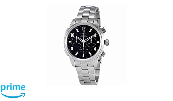 Amazon.com: Perrelet Class-T Chronograph Automatic Mens Watch A1069/B: Watches
