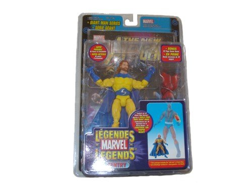 Marvel Legends Giant Man Series Variant Sentry with Beard Action Figure with Giant Man Piece