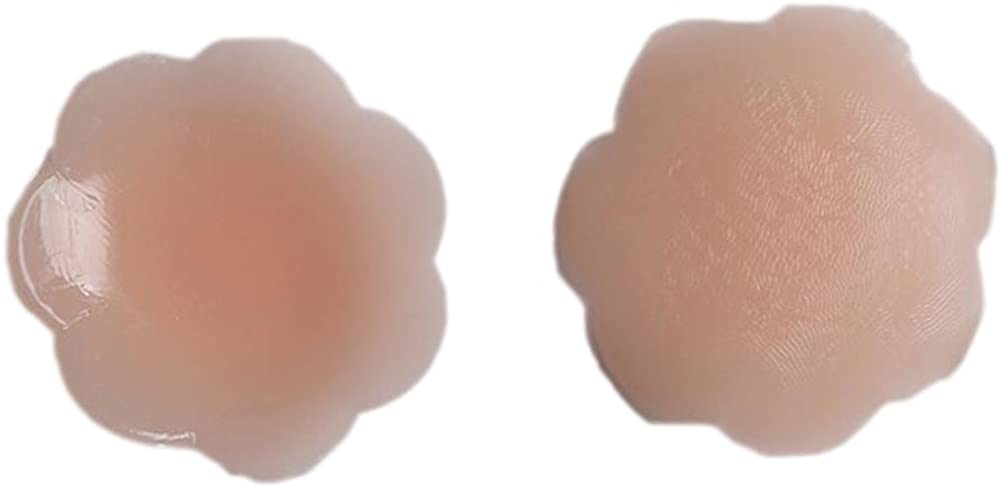 FIGHOUOR Women Pasties Silicone Nipple Covers Self-Adhesive Nipple Concealer Breast