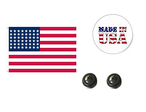(Made in The USA. 2 Historical 48-Star American 4