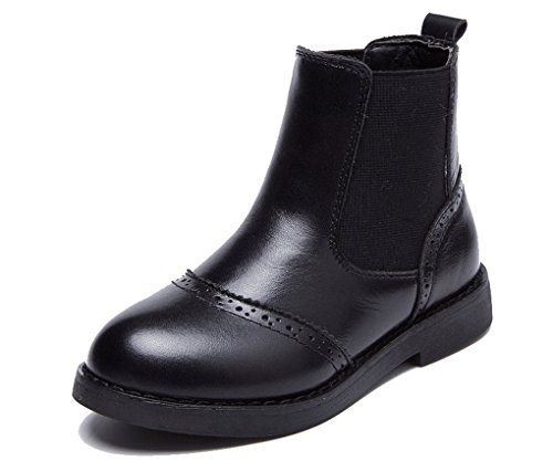 Short Leather Waterproof Snow Boot Cozy Pointss Jodhpur Fashion Vintage Girls Boots Black Boots Ankle Boot f8awn54xqS