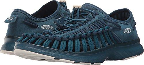 KEEN Damen Uneek o2-w Sandale Majolika Blau / Legion Blau