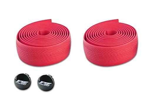 pz Racing cr403ht cintas de manubrio de silicona, color rojo