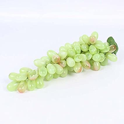 Buy Pinkdose® 85 Pcs Green: Artificial Grapes Plastic Fruit