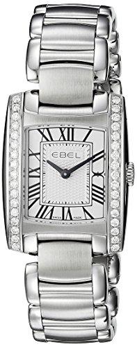 EBEL Women's 1216068 Analog Display Swiss Quartz Silver Watch