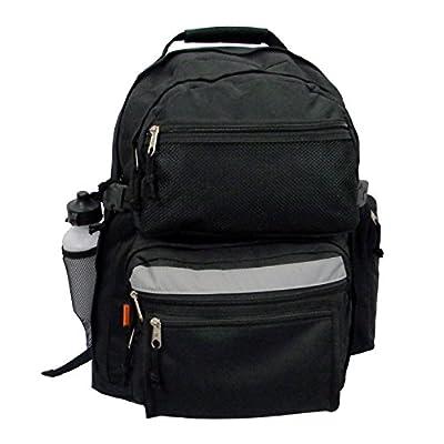 Large Bookbag Student School Book Bags Big Emergency Backpack Reflective Stripe hot sale 2017