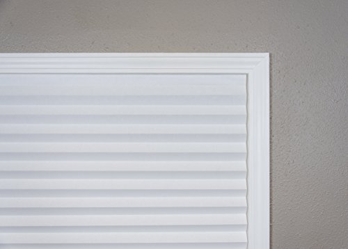 """Original Light Filtering Pleated Paper Shade White, 36"""" x 72"""", 6-Pack by Redi Shade (Image #7)"""