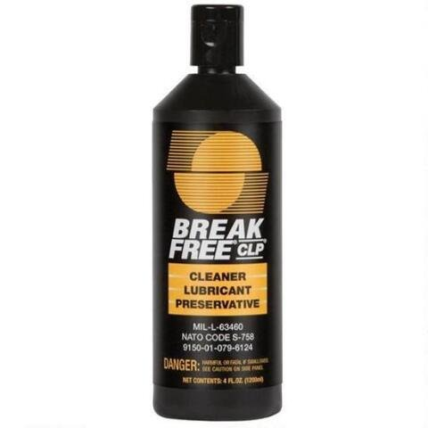 Break-Free Gun Cleaning CLP-4 Cleaner/Lubricant/Preservative 4 FL OZ, Case of 10 by BreakFree