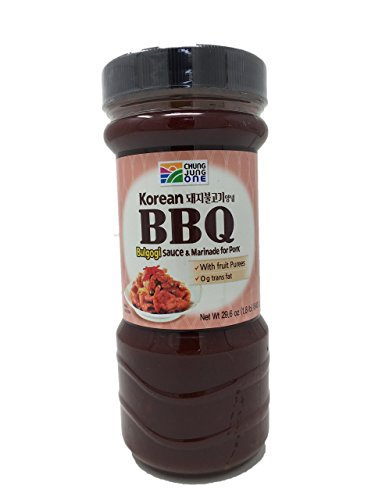 Chung Jung One Korean BBQ Bulgogi Sauce & Marinade for Pork Large (Bulgogi Marinade)
