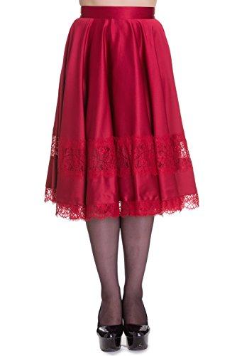 Hell-Bunny-Diana-Rockabilly-50s-Satin-Party-Skirt