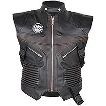 MSHC Men's Avenger Jeremy Hawkeye Faux Leather Vest