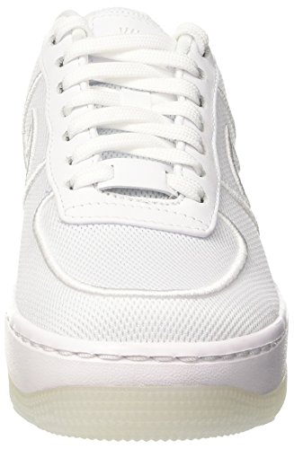 Nike Wmns Af1 Low Upstep Br, Entrenadores para Mujer Multicolor (White/white/glacier Blue)
